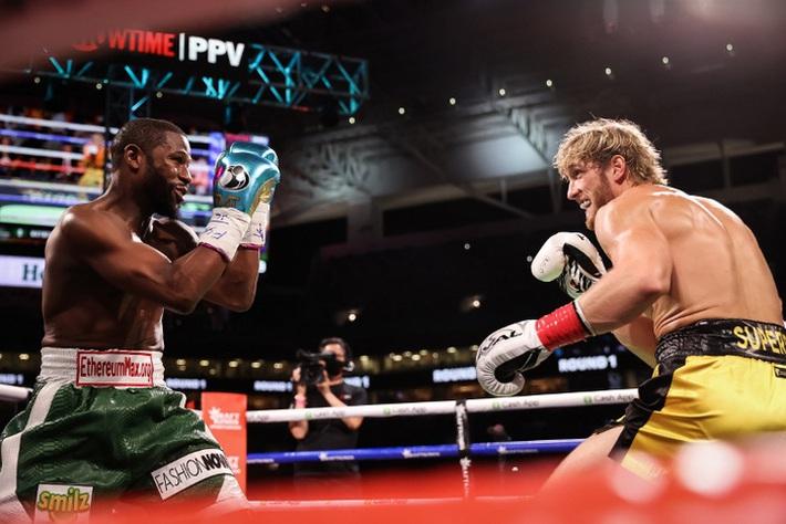 Trận Floyd Mayweather vs Logan Paul bán được ít nhất 1 triệu PPV, phá kỷ lục về lượng người đăng ký tại Showtime - Ảnh 1.