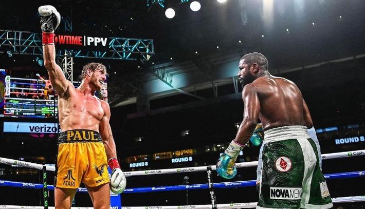 Trận Floyd Mayweather vs Logan Paul bán được ít nhất 1 triệu PPV, phá kỷ lục về lượng người đăng ký tại Showtime - Ảnh 2.