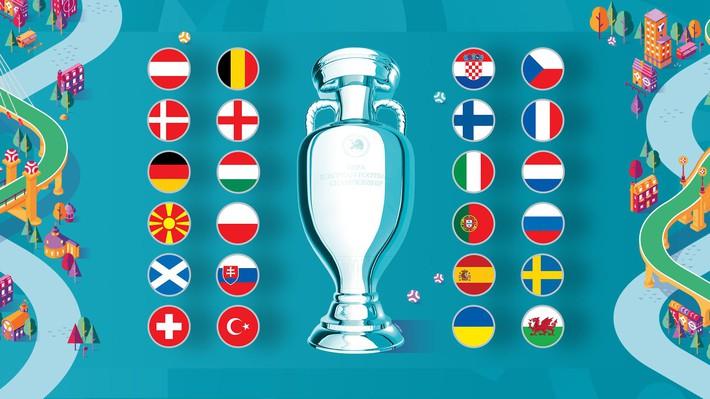 Lịch thi đấu và tường thuật trực tiếp Euro 2020 - Ảnh 1.