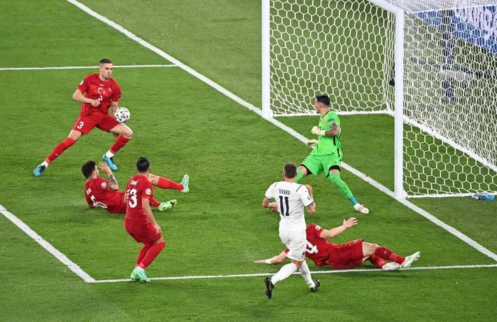 Thổ Nhĩ Kỳ 0-3 Italia: Lời tuyên bố dõng dạc - Ảnh 2.