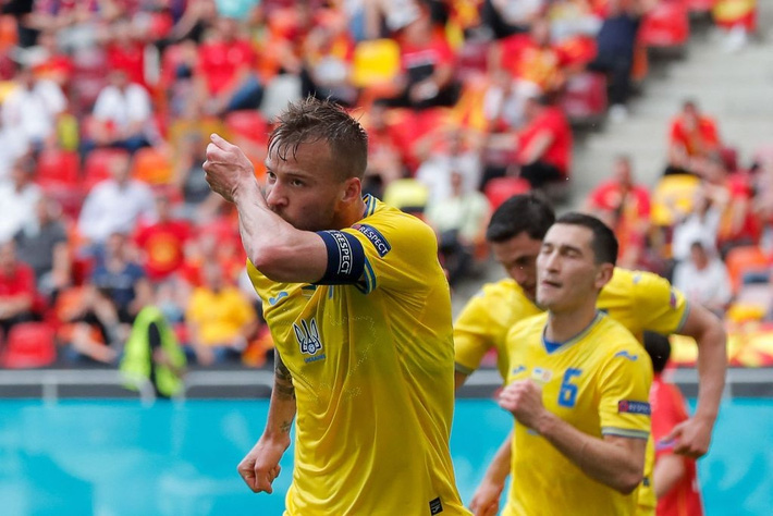 Ukraine 2-1 Bắc Macedonia: Hay ngoài mong đợi - Ảnh 2.