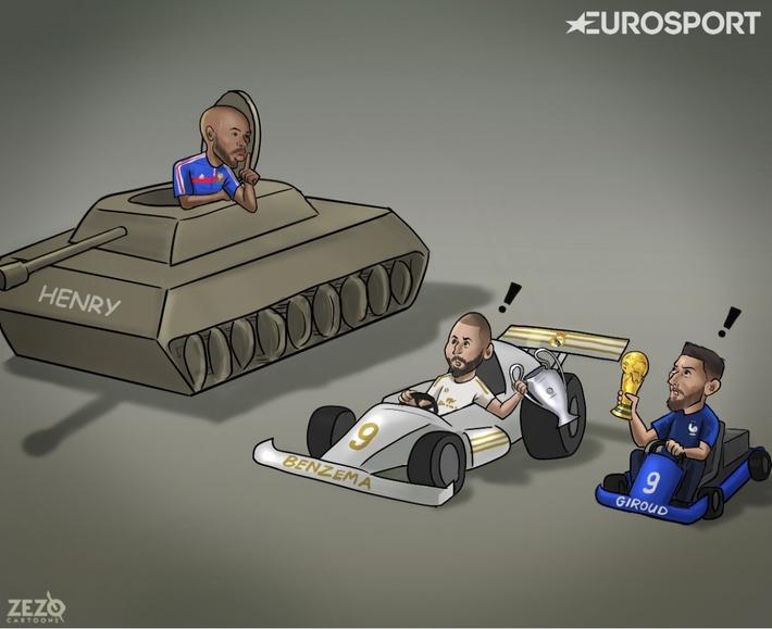 ĐT Pháp đưa ra yêu cầu đặc biệt cho Benzema và Giroud - Ảnh 1.