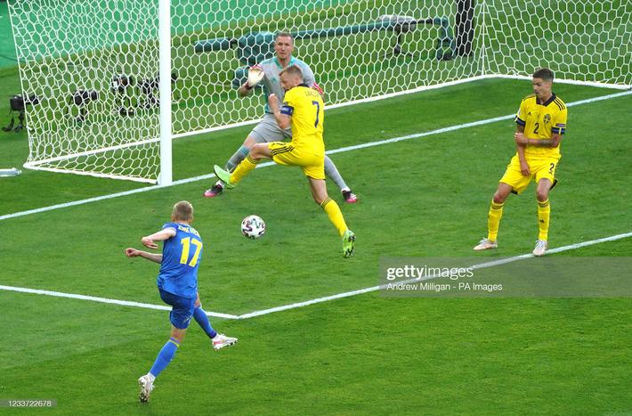 Kết quả Thụy Điển vs Ukraine: Đội bóng may mắn nhất Euro tạo thêm cơn địa chấn lớn - Ảnh 1.