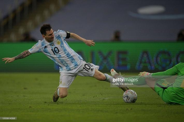 Bật khóc trong ngày đăng quang, Messi chiếm trọn mọi giải thưởng danh giá tại Copa America - Ảnh 1.