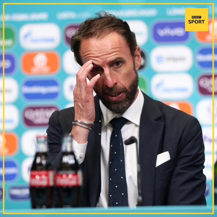 HLV Gareth Southgate thừa nhận sợ thua trong hiệp phụ trận chung kết Euro 2020 - Ảnh 1.