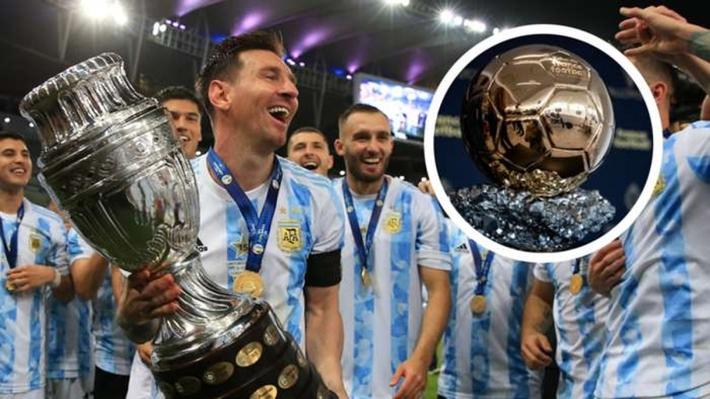 Top 10 ứng viên Quả bóng Vàng 2021: Messi bỏ xa nhà vô địch EURO 2021 - Ảnh 1.