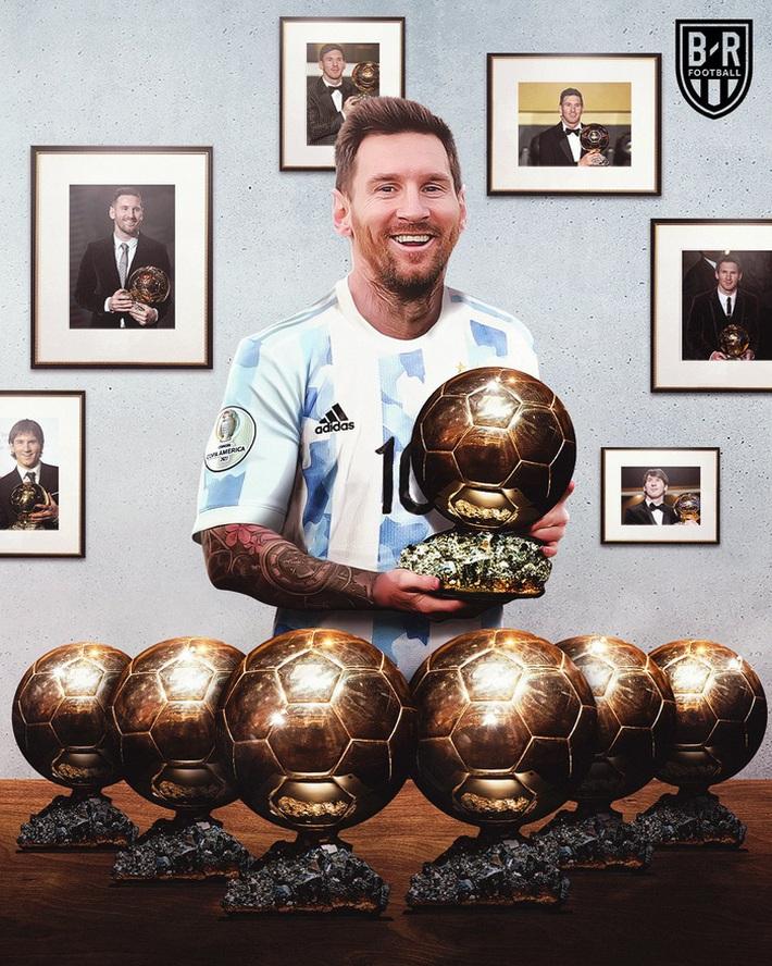 Thống kê khủng khiếp lý giải vì sao Messi là ứng viên nặng ký cho Quả bóng Vàng - Ảnh 3.