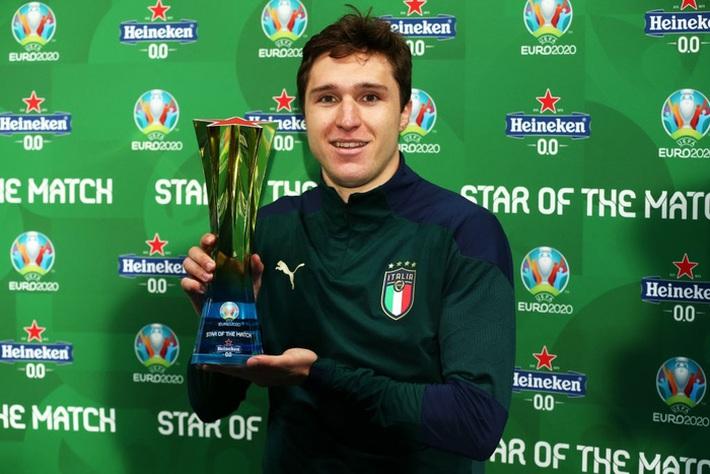 Ảnh: Tuyển Italy ăn mừng cuồng nhiệt sau chiến thắng tại bán kết Euro 2020 - Ảnh 9.