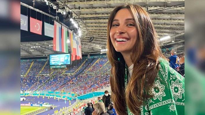 Chưa đấu Chung kết Euro, đội tuyển Italia đã xứng đáng vô địch về... dàn WAGs - Ảnh 4.