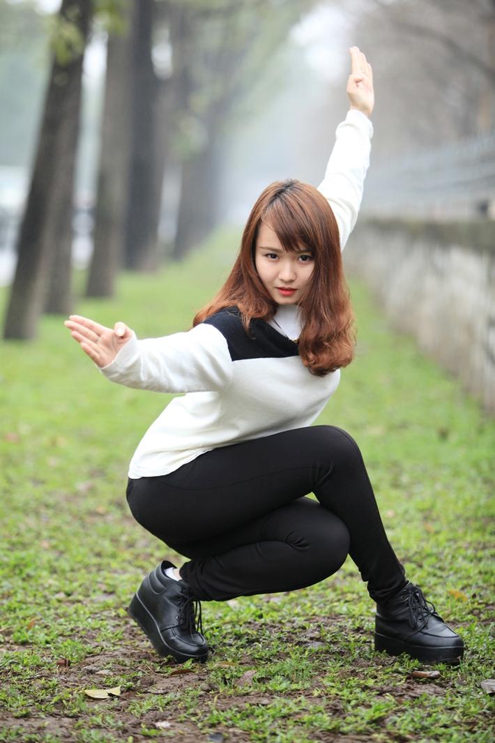 Câu chuyện về nữ võ sĩ suýt so tài với Midu - Ảnh 5.