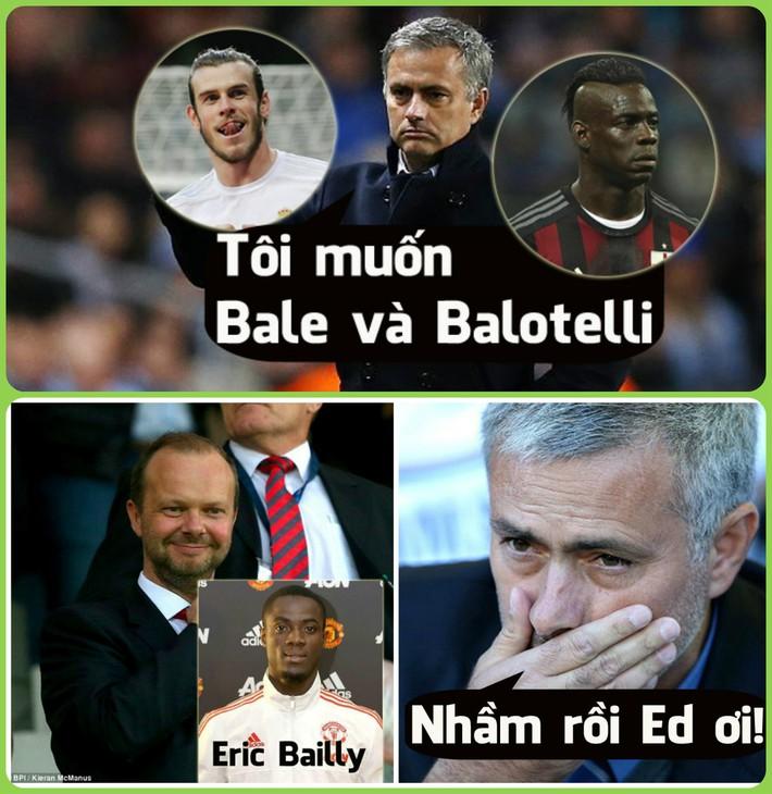 Ảnh chế: Man United mua nhầm, Mourinho không hề muốn Eric Bailly - Ảnh 3.