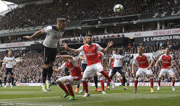 Trút niềm căm hận trăm năm, Tottenham ép Arsenal cúi gục đầu trên White Hart Lane - Ảnh 8.
