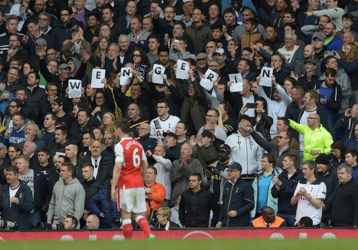 Thua bẽ bàng, Wenger biện hộ... thắng Tottenham không phải mục tiêu của Arsenal - Ảnh 4.