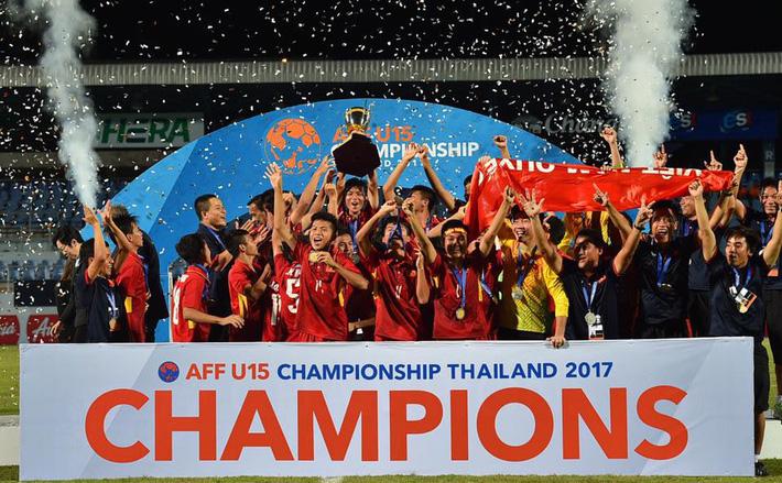 Phó chủ tịch VFF: Chiến thắng của U15 Việt Nam chứng minh đầu tư cho đào tạo trẻ luôn đúng - Ảnh 1.