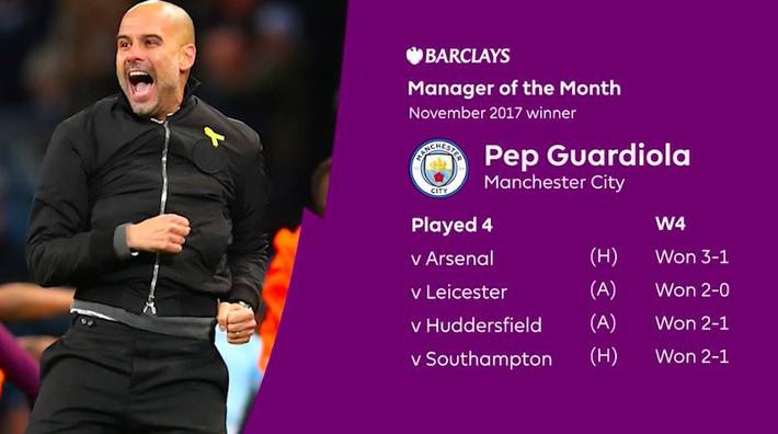 Guardiola san bằng thành tích của Conte, lần thứ 3 liên tiếp hay nhất Premier League - Ảnh 1.