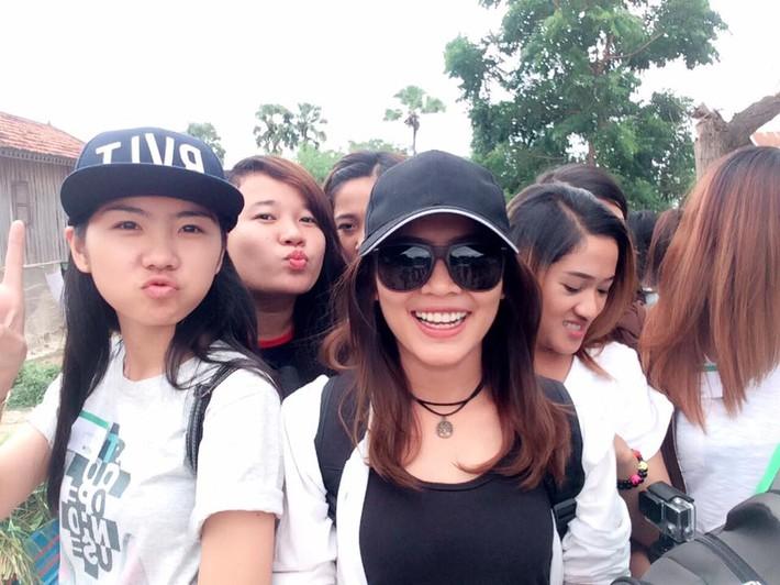 Hot girl làng võ Campuchia gây sốt với vẻ đẹp dữ dội, nhưng không kém phần quyến rũ - Ảnh 8.