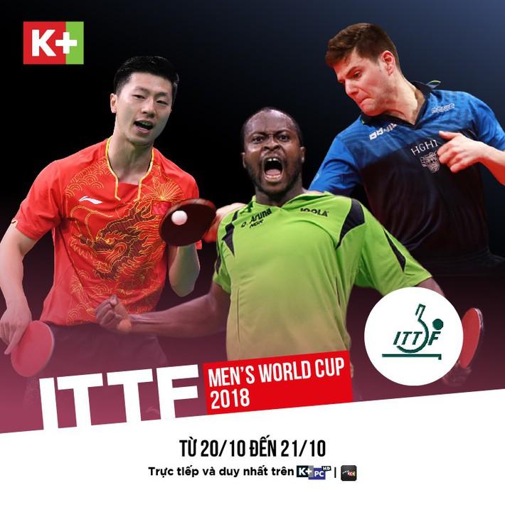 ITTF Men's World Cup 2018: Giải đấu không thể bỏ qua của bóng bàn thế giới  - Ảnh 1.