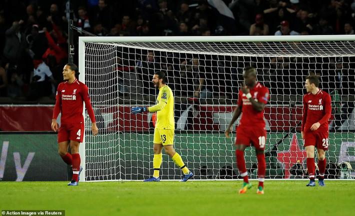 Gục ngã dưới chân PSG, Liverpool đối diện nỗi hổ thẹn lớn tại Champions League - Ảnh 2.