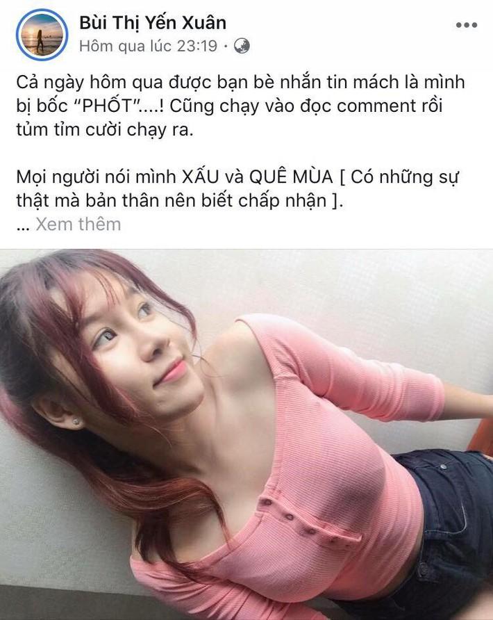 Bạn gái Văn Lâm lên tiếng khi bị chê bai về nhan sắc - Ảnh 1.