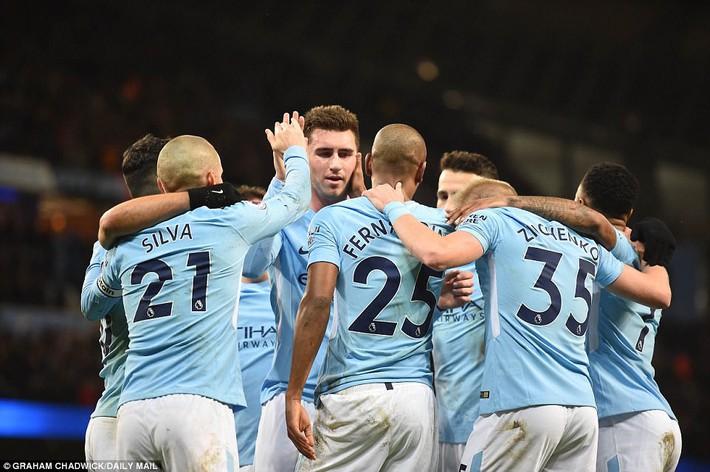 Tân binh 57 triệu bảng ra mắt, Man City sạch lưới, thắng dễ như trở bàn tay - Ảnh 8.