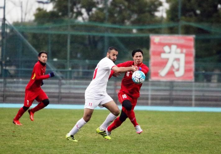 U23 Việt Nam 1-1 U23 Palestine: Nỗi sợ hãi 10 phút của HLV Park Hang-seo - Ảnh 3.