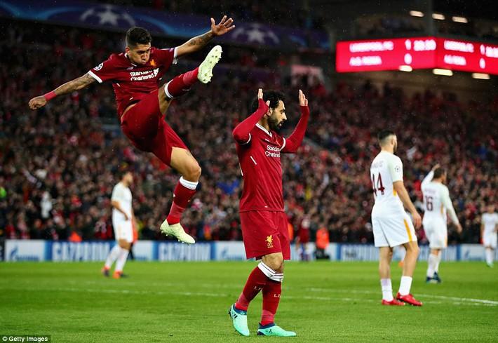 Salah khơi mào cho đêm Liverpool vùi dập AS Roma, khiến Barca tiếc đến ngẩn ngơ - Ảnh 14.