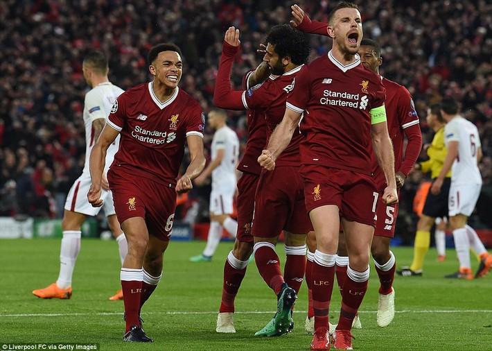 Salah khơi mào cho đêm Liverpool vùi dập AS Roma, khiến Barca tiếc đến ngẩn ngơ - Ảnh 18.