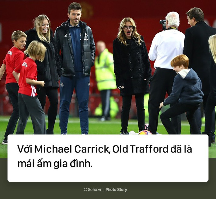 [PHOTO STORY] Michael Carrick - Old Traffrord biết ơn người chiến binh thầm lặng ấy - Ảnh 13.