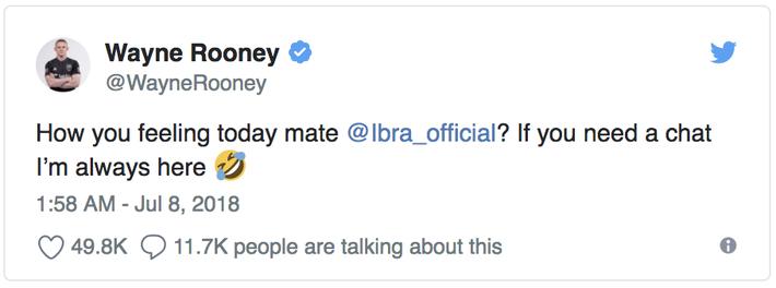 David Beckham, Rooney thi nhau trêu Ibrahimovic sau chiến thắng của đội tuyển Anh - Ảnh 2.