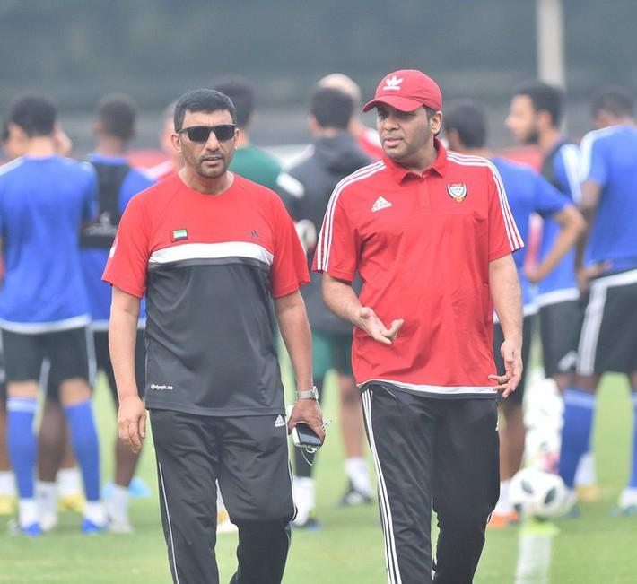 U23 UAE tập kỹ penalty, tự tin giành tấm HCĐ tại ASIAD - Ảnh 9.