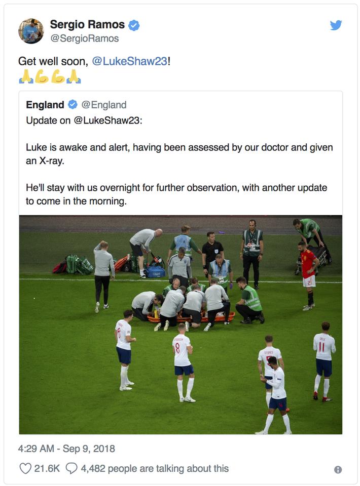 Luke Shaw bất tỉnh sau chấn thương hi hữu, Mourinho lo sốt vó - Ảnh 7.