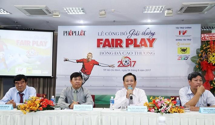 Giải Fair-play 2017: Long An nhận giải Mâm xôi vàng - Ảnh 2.