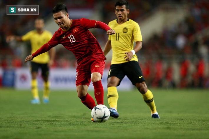 Tân binh của HLV Park Hang-seo: Tuyệt vời Quang Hải, Messi Việt Nam! - Ảnh 1.