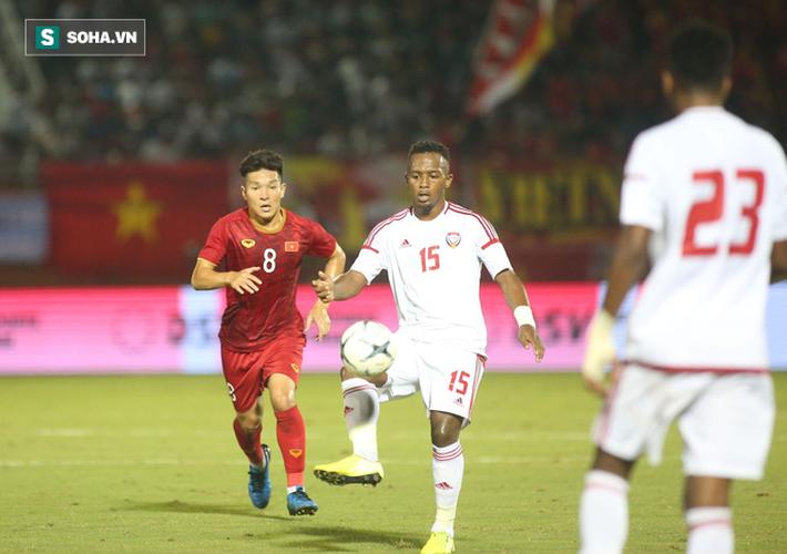 Sau màn hạ thủ U22 Trung Quốc, trò yêu của thầy Park xé lưới UAE báo tin vui - Ảnh 3.