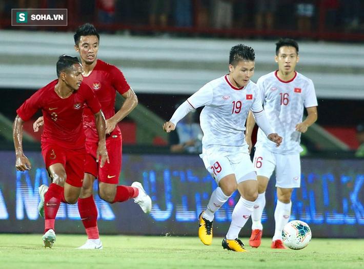 Đánh canh bạc liều lĩnh, thầy trò HLV Park Hang-seo thắng tâm phục khẩu phục Indonesia - Ảnh 1.