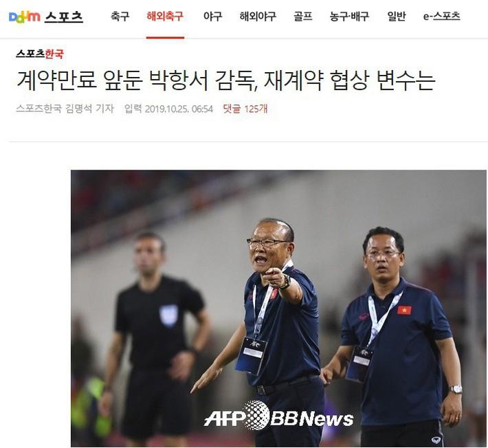 Báo Hàn bất ngờ ngáng đường HLV Park Hang-seo bằng thông tin sai lệch về hợp đồng mới - Ảnh 1.