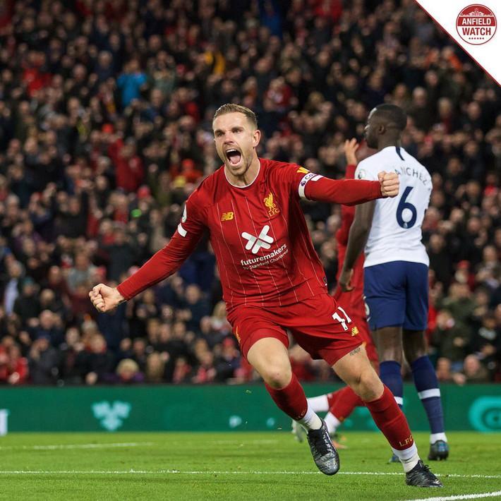 Vận may gõ cửa, Liverpool xây chắc ngôi đầu bảng bằng trận thắng nhọc trước Tottenham - Ảnh 3.
