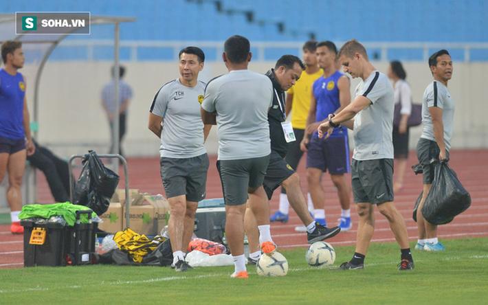 Rèn lại bài tập lạ từ AFF Cup, Malaysia chờ giăng bẫy ĐT Việt Nam tại Mỹ Đình - Ảnh 1.