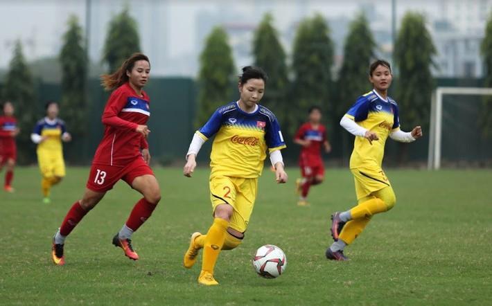 Đội nữ Việt Nam tập trung chuẩn bị cho SEA Games 30 - Ảnh 1.
