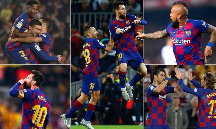 Messi vĩ đại chỉ cần có 6 phút để đánh bại Ronaldo, giật Quả bóng Vàng thứ 6 - Ảnh 4.