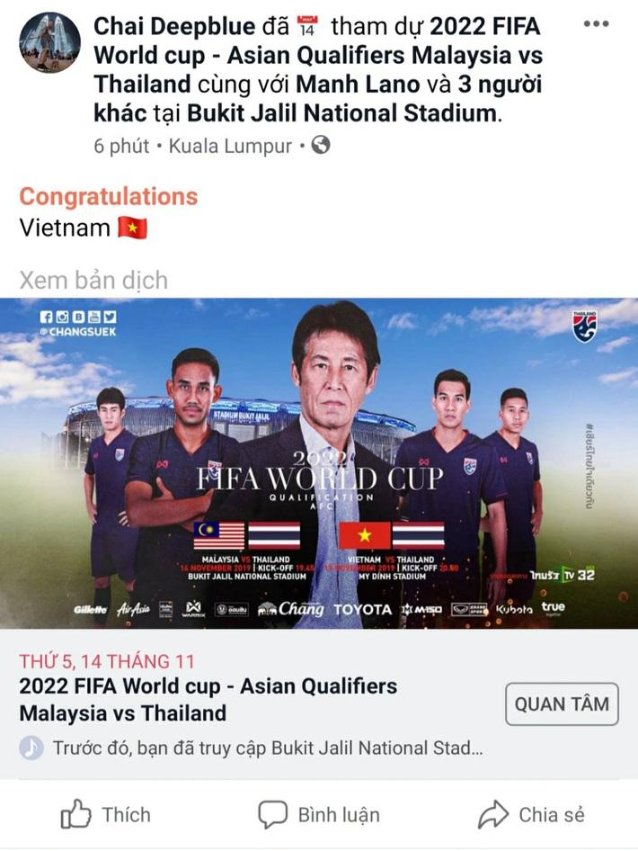 Thua đau Malaysia, CĐV Thái Lan lo thầy trò Akira Nishino gặp khó trước Việt Nam - Ảnh 1.