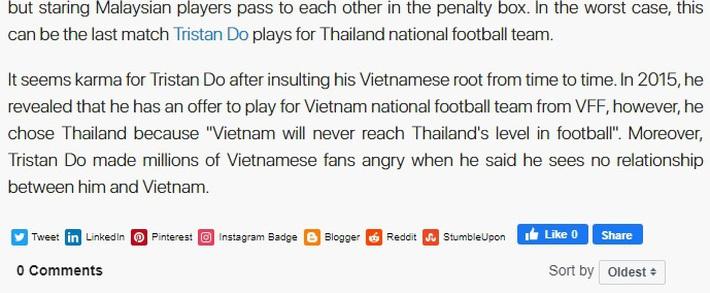 Tristan Do bị loại là quả báo vì dám xúc phạm gốc gác, coi thường tuyển Việt Nam - Ảnh 2.
