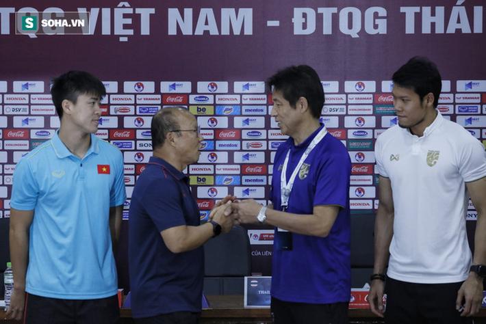 KẾT THÚC: Thầy Park đã biết điểm yếu của Thái Lan; ông Nishino liên tục khen Việt Nam - Ảnh 3.