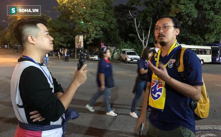CĐV Thái Lan: Thực sự tiếc nuối vì hôm nay không ghi được bàn vào lưới Việt Nam - Ảnh 1.