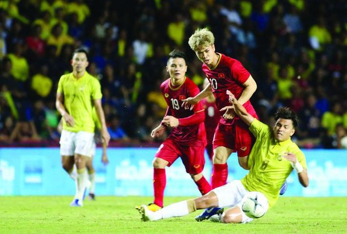 Bố tuyển thủ Quế Ngọc Hải tự tin Việt Nam dành chiến thắng - Ảnh 1.