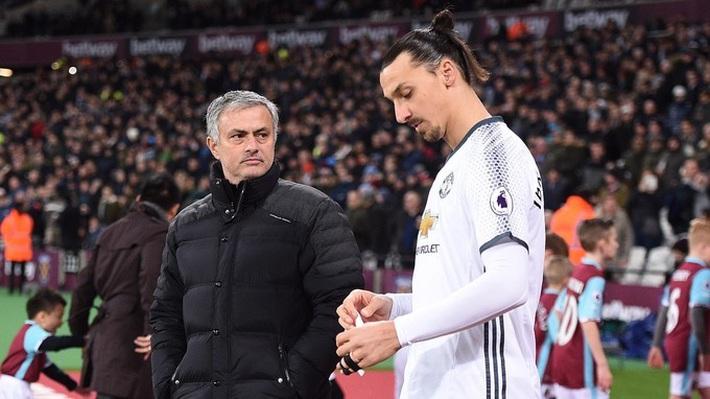 Mourinho ký ngay trò cưng Ibrahimovic miễn phí - Ảnh 1.
