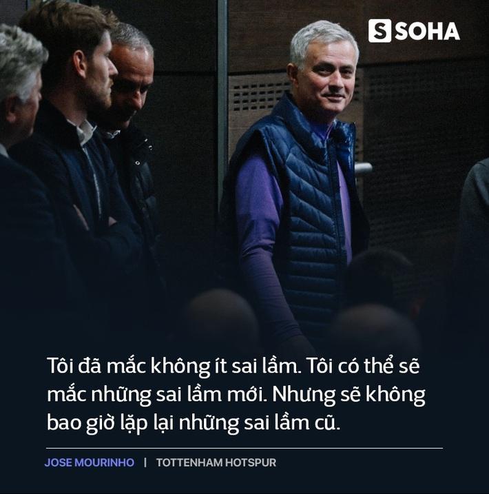 Mourinho trở lại Premier League: Thẳm sâu trong bộ vó quý ông, vẫn là gã hiếu chiến? - Ảnh 2.