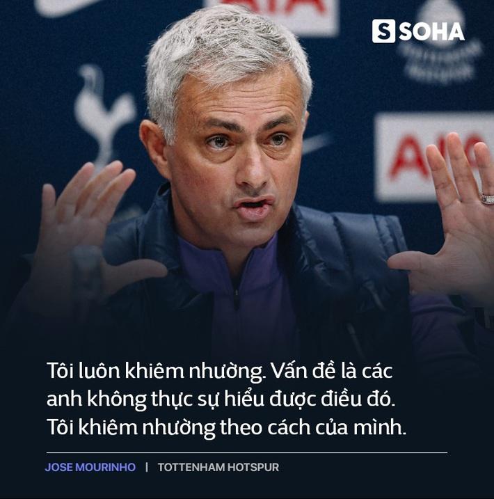 Mourinho trở lại Premier League: Thẳm sâu trong bộ vó quý ông, vẫn là gã hiếu chiến? - Ảnh 3.