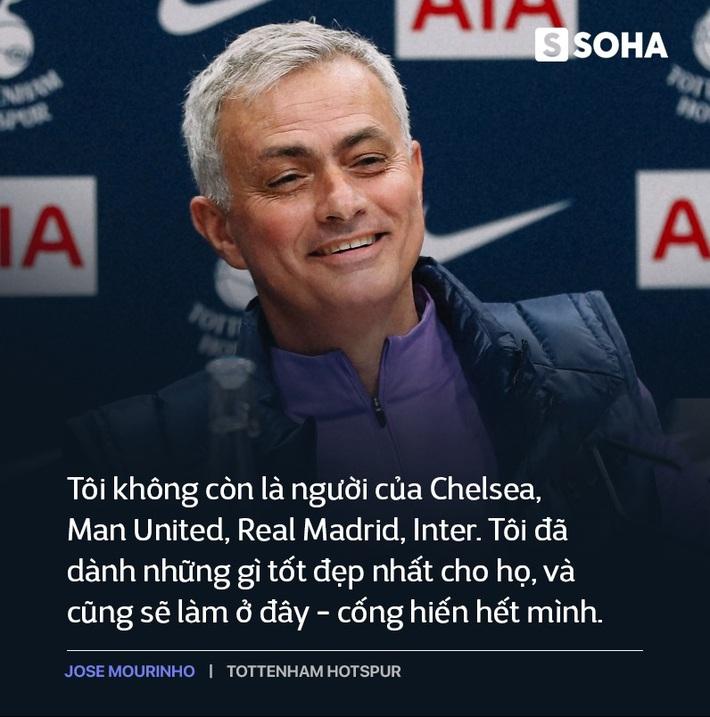 Mourinho trở lại Premier League: Thẳm sâu trong bộ vó quý ông, vẫn là gã hiếu chiến? - Ảnh 4.