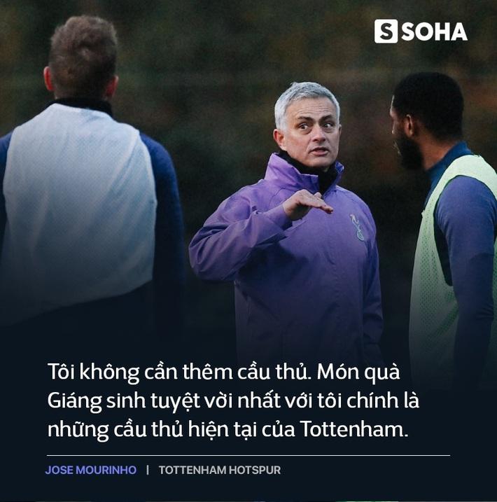 Mourinho trở lại Premier League: Thẳm sâu trong bộ vó quý ông, vẫn là gã hiếu chiến? - Ảnh 9.